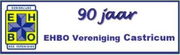 EHBO Vereniging Castricum 90 jaar.