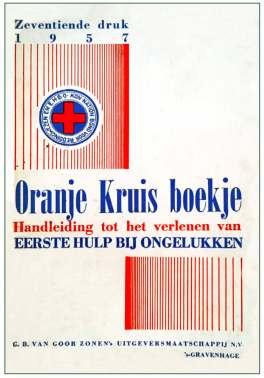 Lesboekje Oranje Kruis in 1957.