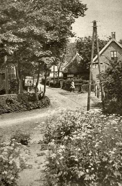 Duinkant Kramersweg gesloopt in 1943.