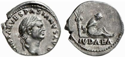 IUDEA CAPTA,         Jerusalem (Vespasianus and Titus               in 20 v.C.   70/71 n.C.)