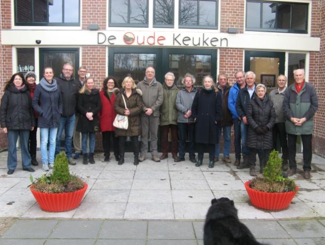 Raads- en carrouselleden bezoeken Duin en Bosch