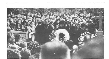 Meer dan 2000 mensen woonden de begrafenis van de geliefde dokter bij