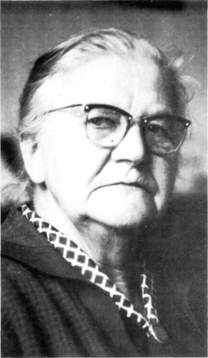 Tante Sientje op ca. 75-jarige leeftijd