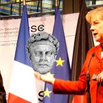 Sarkozy en Merkel