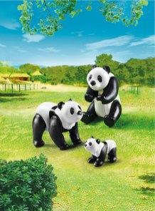 Playmobil panda's