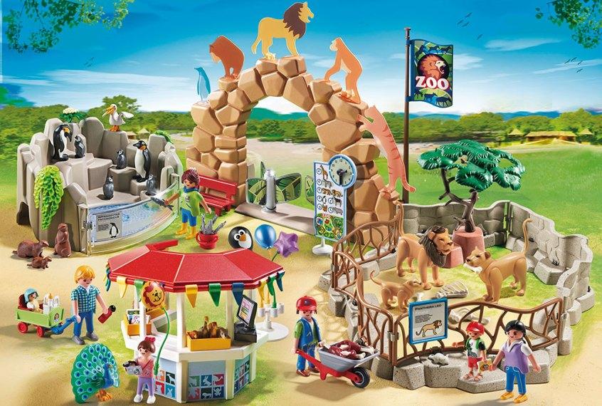 Playmobil zoo ingang