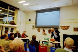 Jeroen Slot is hoofd onderzoek OIS (Onderzoek, Informatie en Statistiek Amsterdam)