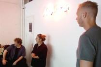 De docenten: Charlie Mulholland, Marjolijn Ruyg en Jaap Evenhuis
