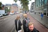 De tocht gaat verder in de Valkenburgerstraat