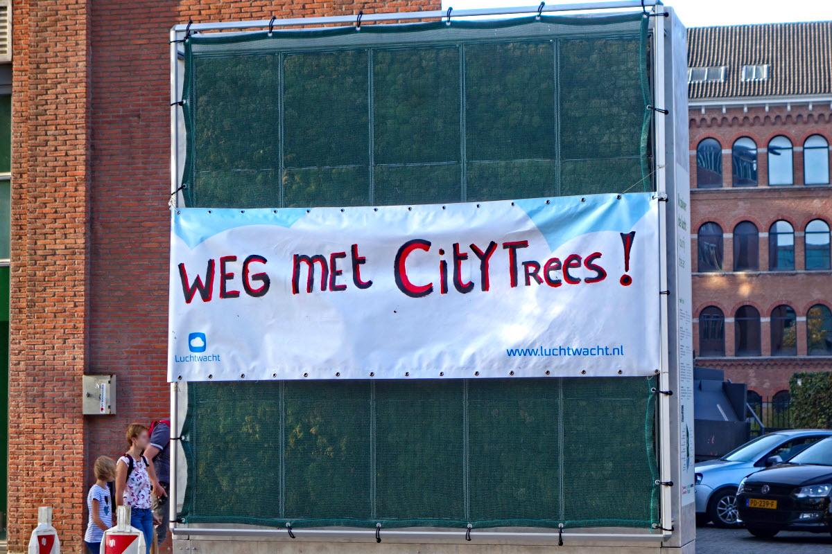 Weg met CityTrees
