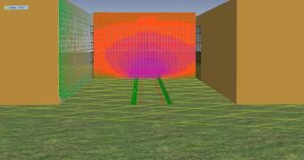 De effecten van een geluidsscherm van 1,0 meter hoog in de Valkenburgerstraat (nul komma nul).