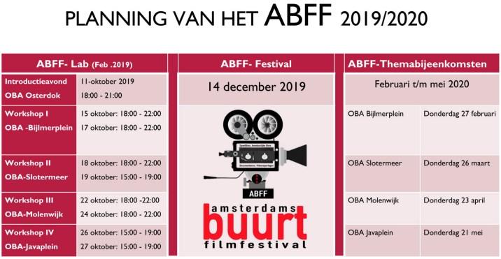 Planning ABFF