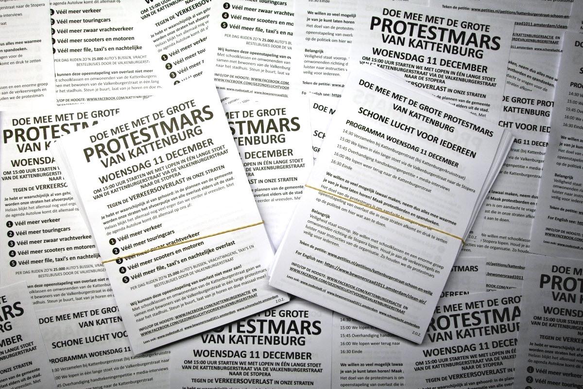 Protestmars 11 december; doe ook mee!
