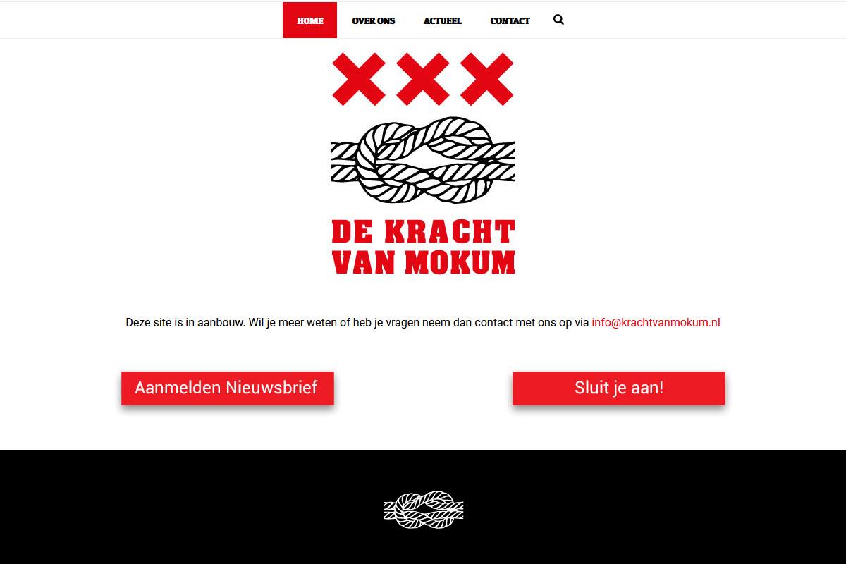 Website Kracht van Mokum