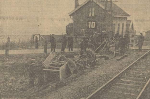 Aanrijding 1933 op Staatslijn H