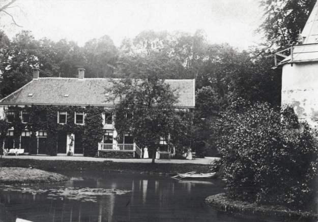Wickenburgh in 1913 voor de brand