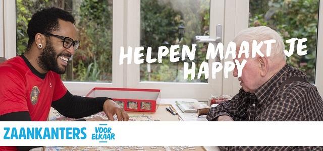 Helpen maakt je happy: 'Zaankanters voor elkaar'