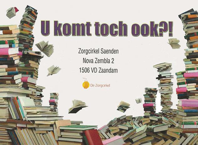 Tweede hands boeken- en bekermarkt in Saenden