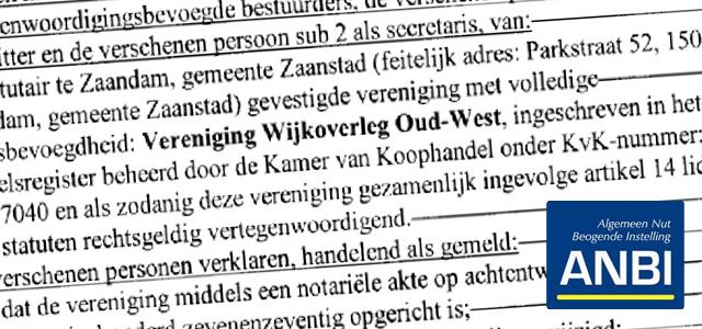 Statutenwijziging van artikel 30 notarieel vastgelegd