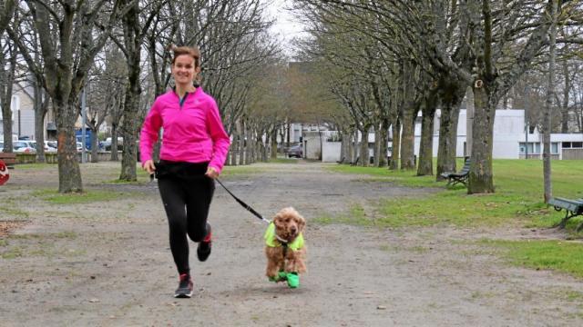 Fanny et Léchouille s'entraînent en moyenne deux fois part semaine.