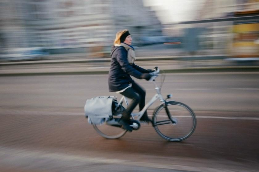 Photo by Ahmad Zamri - refugee bicycle