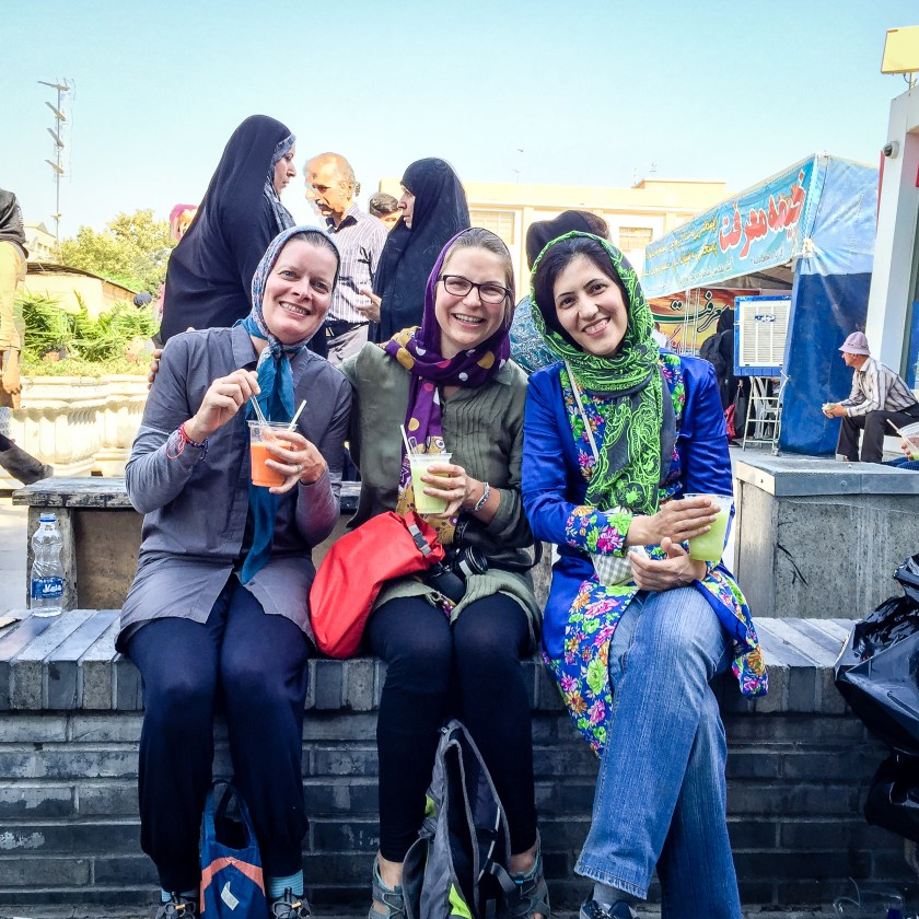 Ladies who lunch in Tehran