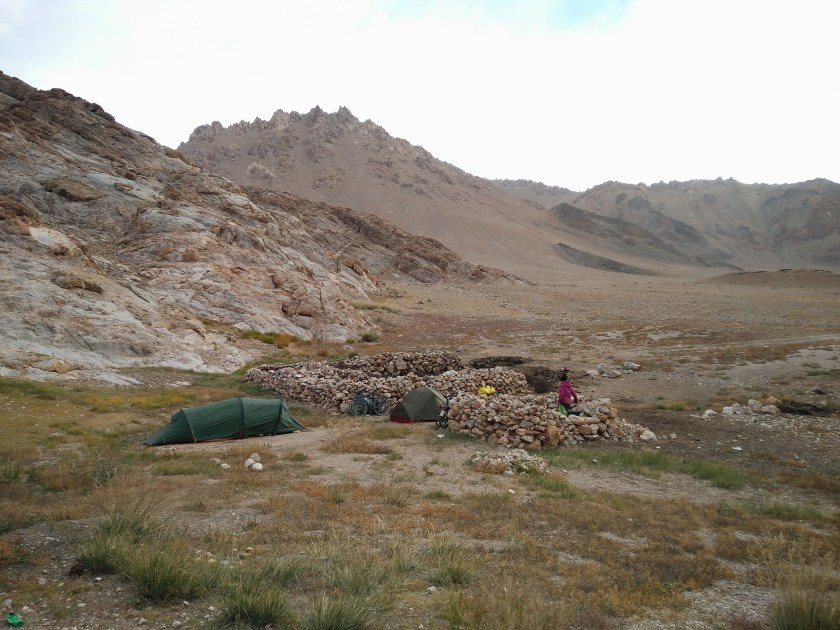 Last camp before Murghab
