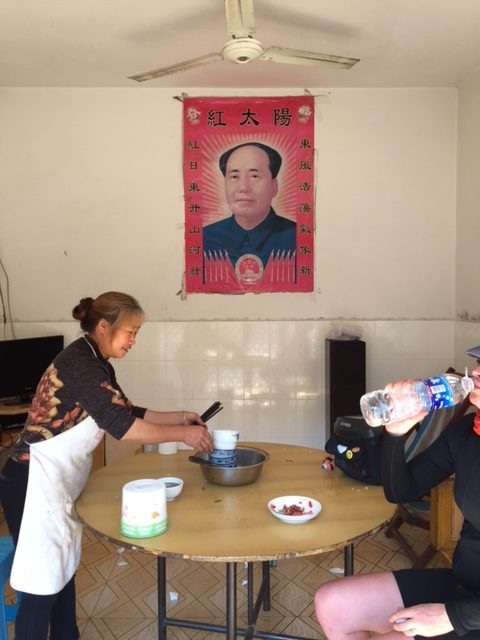 Noodles with Mao