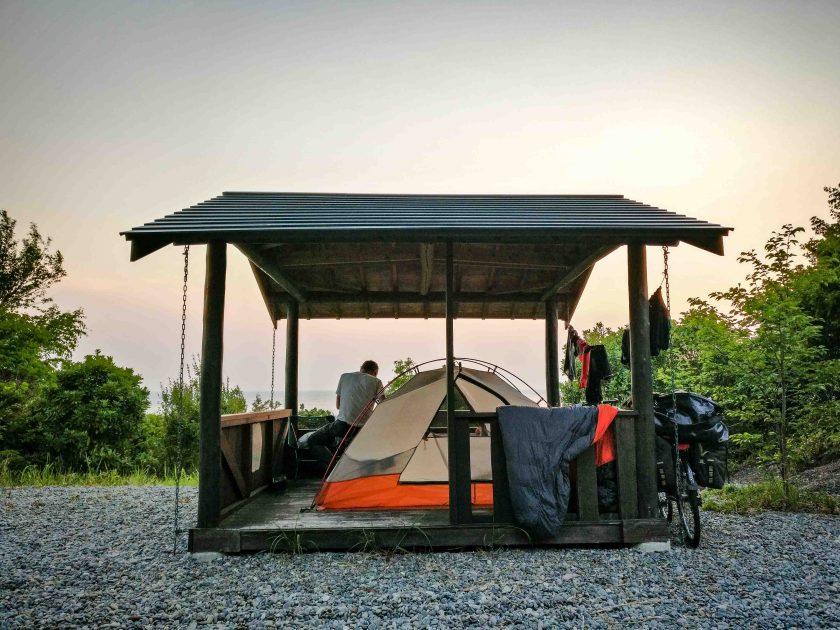 Best camping spot ever