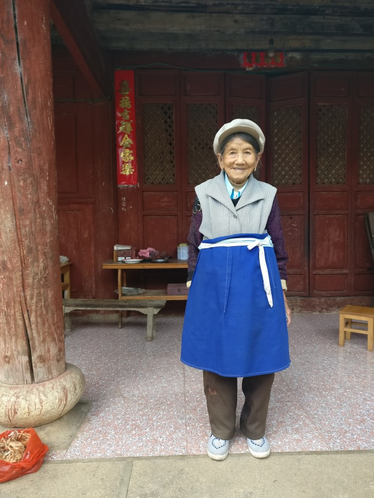 Auntie Liu of Baisha village