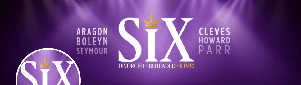 Promotional image for Six at the Arts Theatre
