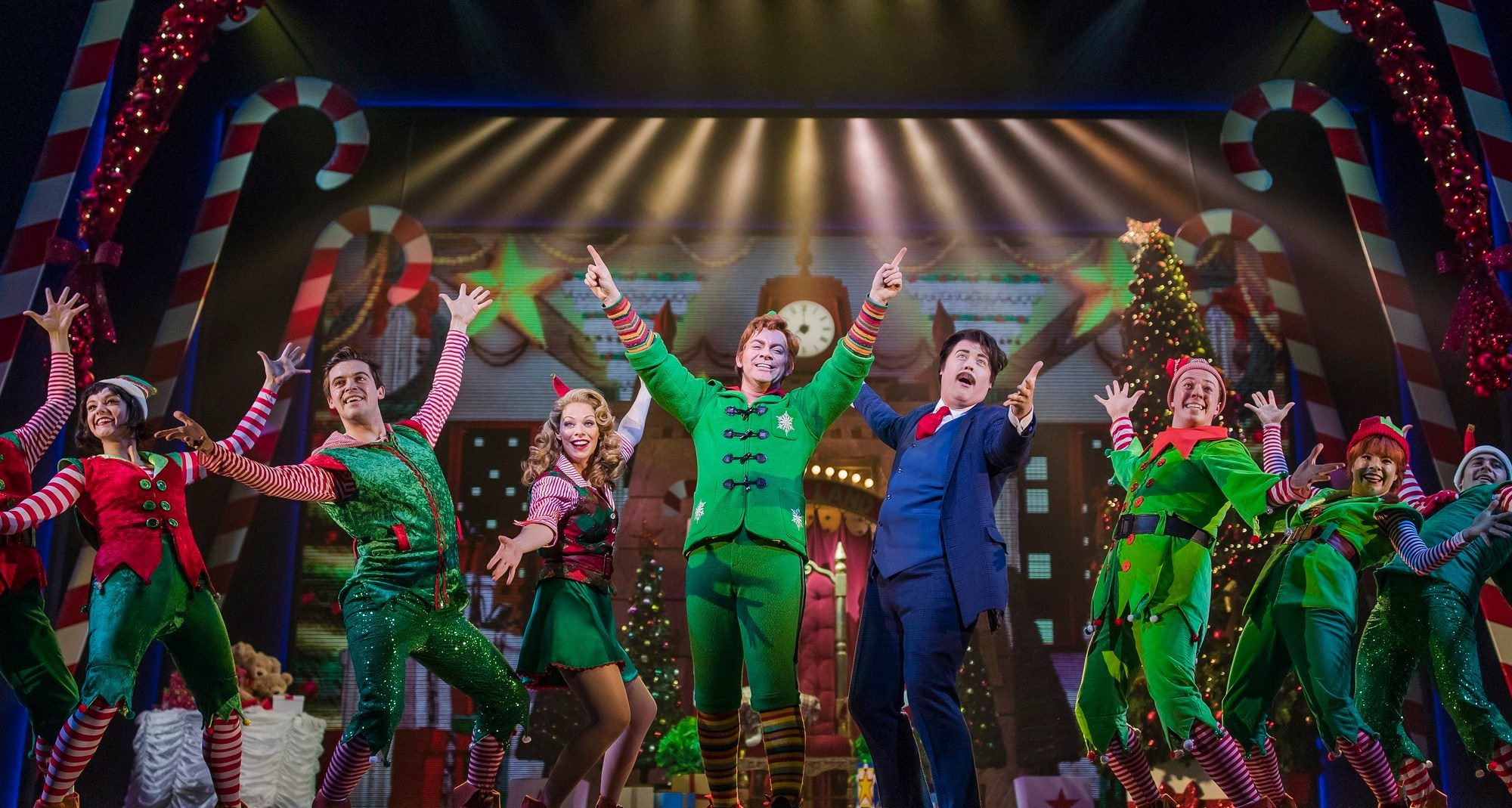 The Lowry Theatre's 2017/8 production of Christmas show Elf
