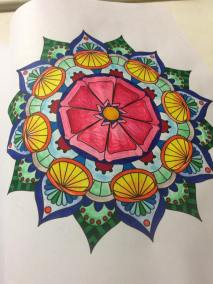 My first Colored Piece!