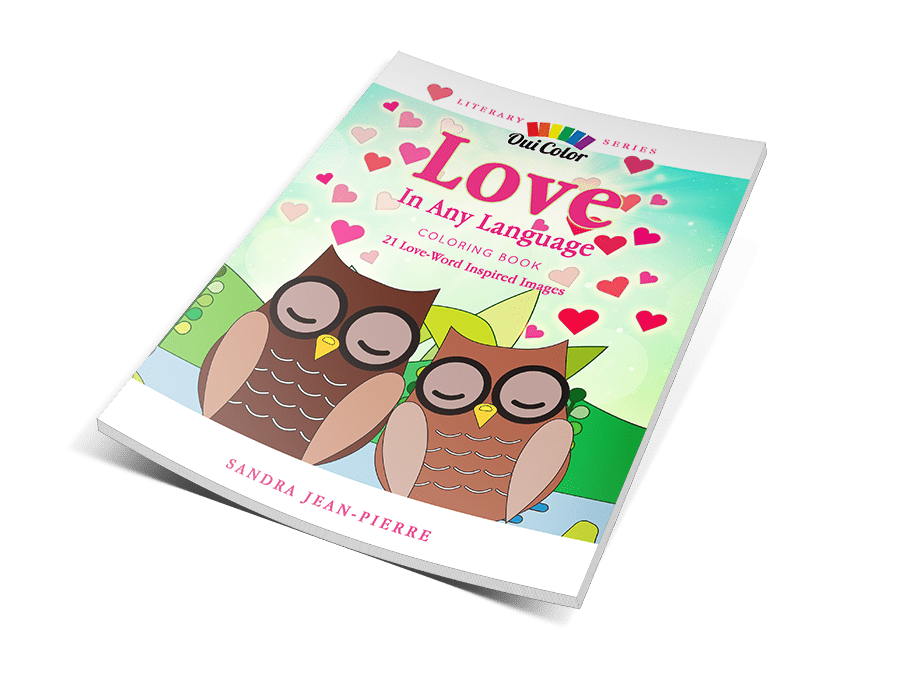 Love In Any Language • New Literary Series Coloring Book!