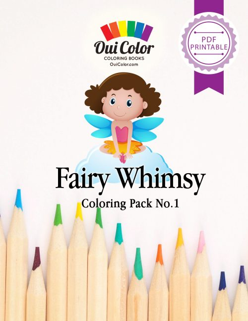 Fairy Whimsy: Coloring Pack No.1