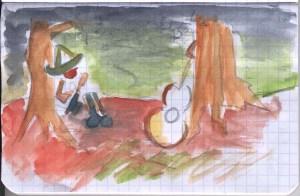 Esteban Esquisse 4 - (c) Nicolas QUENTIN OuiLeO.cOm