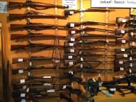 Mur d'armes à répétition
