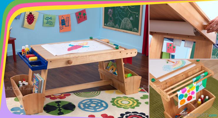 Table Enfant Dessin Ouistitipop