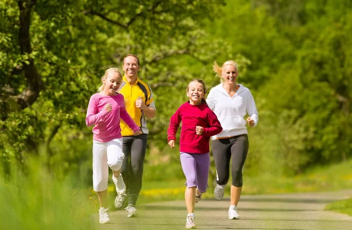 Active lifestyle to lose weight