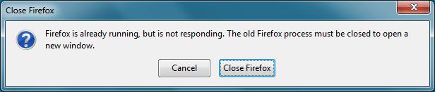 В Mozilla упростят завершение процесса при ошибке «FireFox уже запущен»