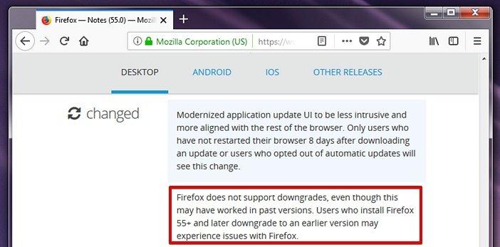 Возможно ли включить устаревшие расширения в Firefox?