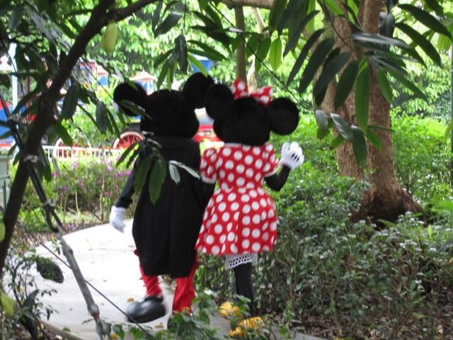 Mickey & Minnie Mouse, ahh love!!