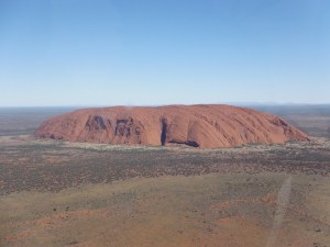 Chopper flight over Uluru with Ayers Rock Helicopters