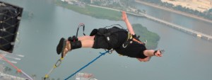 Bungy Jumping from Macau Tower – the highest in the world – Craig's crazy adventures – Family Travel Blog