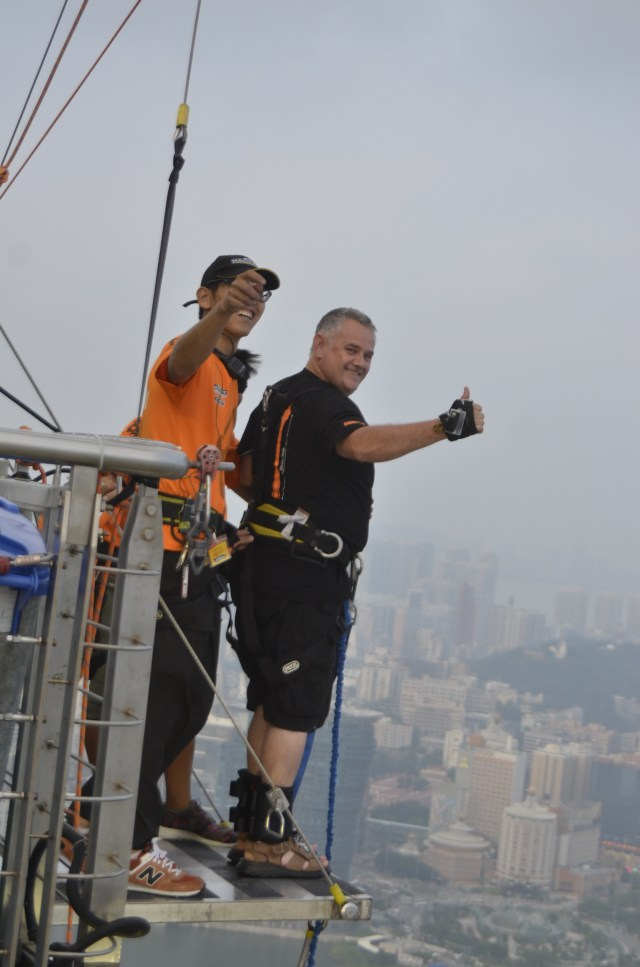 Macau bungy jump