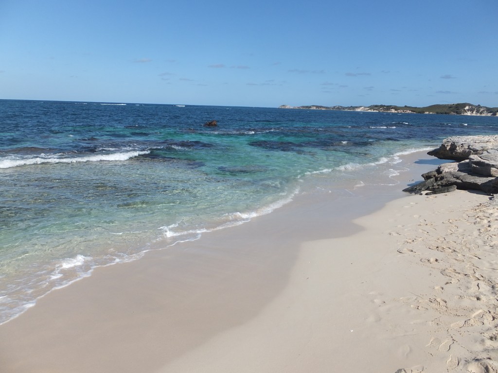 Rottnest Island, Western Australia has lovely beaches as well