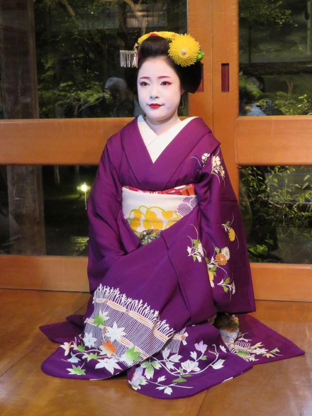 Kyoto geisha experience