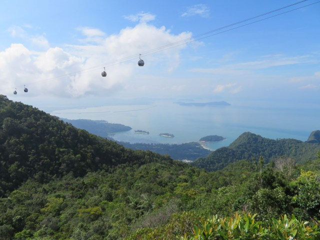 View back down to Paradise Island 101