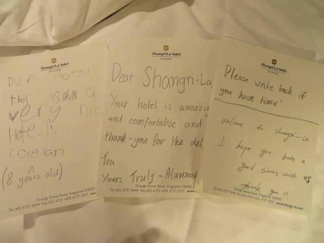 Shangri La Hotel, Singapore