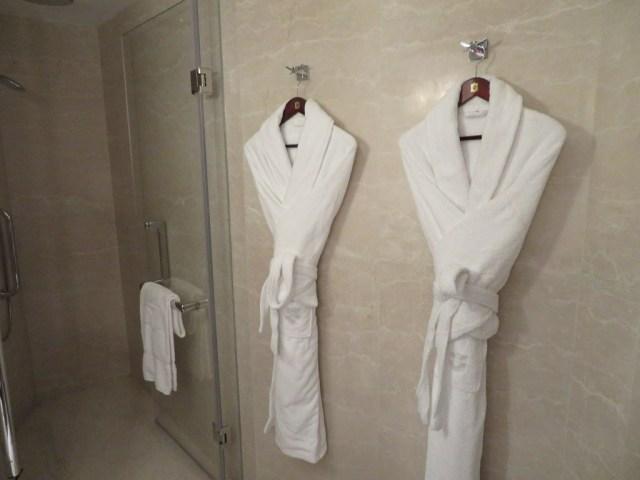 Shangri La bath robes